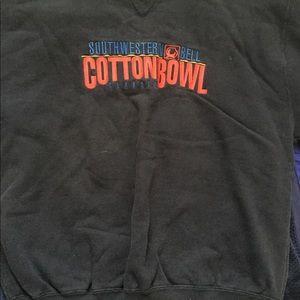 Vintage cotton bowl classic sports crew neck